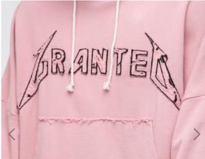 Asos Granted Pink Hoodie